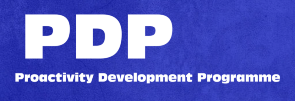 Proactivity Development Programme(PDP)